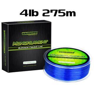 KastKing ブルー 4lb 275m ナイロンライン カストキング(釣り糸/ライン)