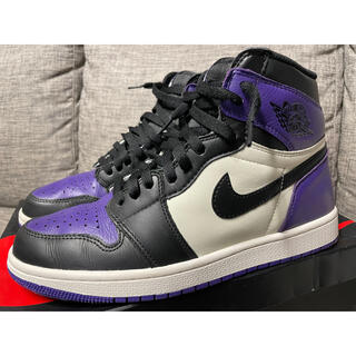 NIKE - NIKE AIR JORDAN 1 COURT PURPLE
