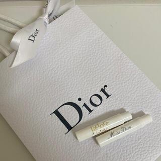 クリスチャンディオール(Christian Dior)のDior  香水  サンプル2点セット(その他)
