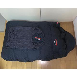ナンガ(NANGA)のNANGA オーロラ900DXオールブラック シュラフ +おまけ (登山用品)
