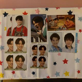 ジャニーズジュニア(ジャニーズJr.)の宮近海斗 デタカ&厚紙カード(アイドルグッズ)