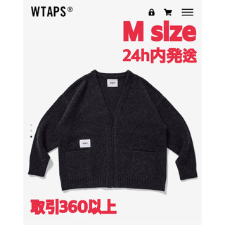W)taps - 20FW WTAPS PALMER SWEATER CHARCOAL Mサイズ