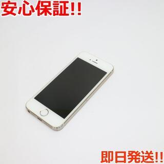 アイフォーン(iPhone)の良品中古 au iPhone5s 64GB ゴールド 白ロム(スマートフォン本体)