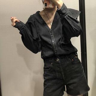 ZARA - デニムシャツ  Mサイズのみ 他完売