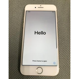 iPhone - iPhone7  256GB  ゴールド SIMフリー ジャンク品