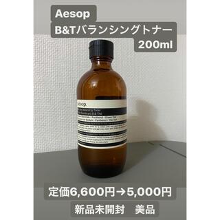 イソップ(Aesop)の【新品】Aesop B&Tバランシングトナー(イソップ/化粧水)(化粧水/ローション)
