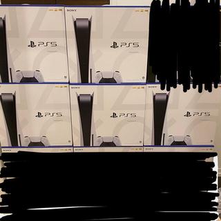 プレイステーション(PlayStation)のPS5 通常坂 5台セット(家庭用ゲーム機本体)