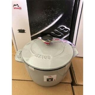 ストウブ(STAUB)の16 鋳鉄STAUB  エナメル鍋(食器)