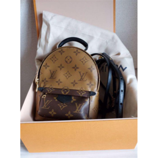 LOUIS VUITTON - 超美品  ルイヴィトン パームスプリングスバックパック