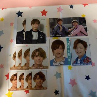 ジャニーズジュニア(ジャニーズJr.)の吉澤閑也 デタカ&厚紙カード(アイドルグッズ)