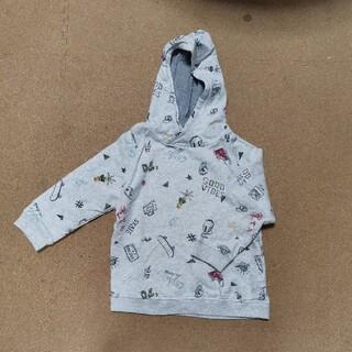 ザラキッズ(ZARA KIDS)のzara パーカー プルオーバー 3-4year 100(Tシャツ/カットソー)