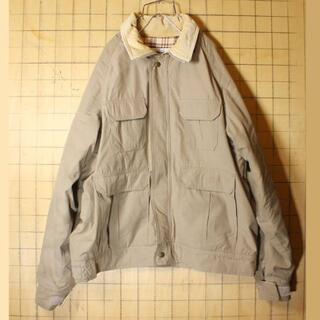 ウールリッチ(WOOLRICH)のビッグサイズ70sUSAウールリッチ中綿ジャケットアウトドアXLベージュaw39(マウンテンパーカー)