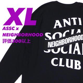 NEIGHBORHOOD - 【XL 黒】NEIGHBORHOOD×ASSC ロンT