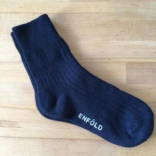 ENFOLD - ENFOLD エンフォルド ソックス