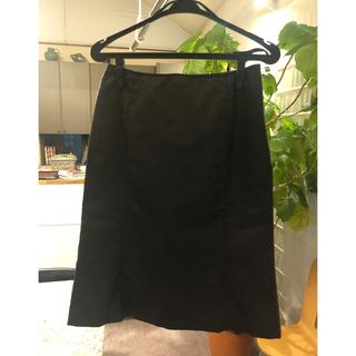 ナチュラルビューティーベーシック(NATURAL BEAUTY BASIC)のNATURAL BEAUTY BASIC スカート 黒(ひざ丈スカート)