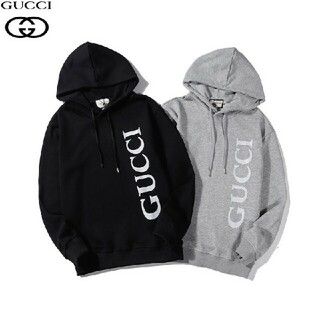 Gucci - 【2枚12000円送料込み】GUCCIパーカー 男女兼用 #22