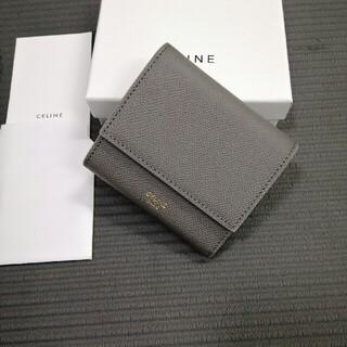 celine - 人気品未使用品 ★【CELINE セリーヌ 】折り財布★グレー