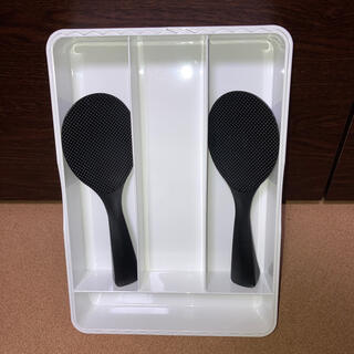 ニトリ(ニトリ)の食器整理カゴ 立つしゃもじ(収納/キッチン雑貨)