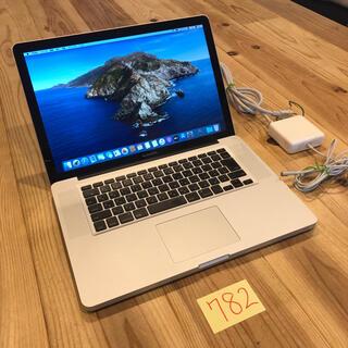 マック(Mac (Apple))の美品!MacBook pro 15インチ 2012 CPU上位モデル(ノートPC)