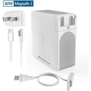 Salcar【PSE認証】60W MagSafe1 L字コネクタ Macbook