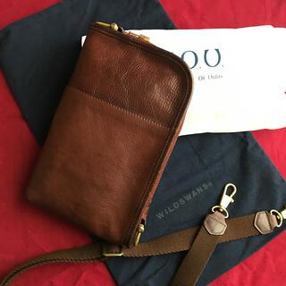 GANZO - ワイルドスワンズ WILDSWANS  コリアー バッグ ボディバック 鞄