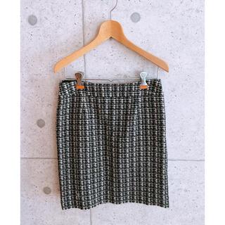 ナチュラルビューティーベーシック(NATURAL BEAUTY BASIC)のナチュラルビューティーベーシック ツイードスカート(ひざ丈スカート)