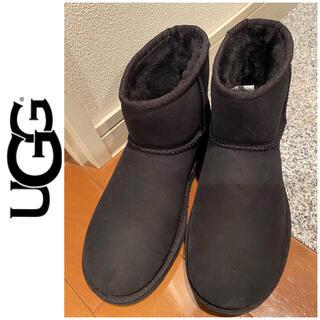 UGG - 未使用UGGアグ☆24ブラックブーツ