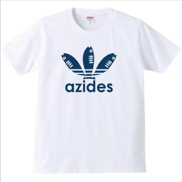 【新品未開封】azides 面白いTシャツ ホワイト レディースのトップス(Tシャツ(半袖/袖なし))の商品写真