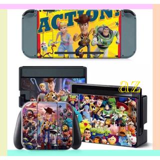 ニンテンドースイッチ(Nintendo Switch)の◎SALE◎トイストーリー 任天堂Switch 保護スキンシール✦汚れ防止(その他)