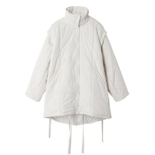 ルシェルブルー(LE CIEL BLEU)のLE CIEL BLEU  2way Padded Cocoon Coat(ロングコート)