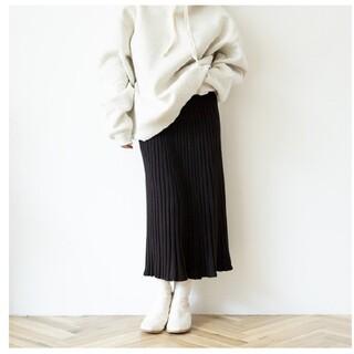 シールームリン(SeaRoomlynn)のシールームリン KNITプリーツSLIMスカート(ロングスカート)