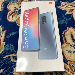 ANDROID - 【新品未開封】Xiaomi シャオミ Redmi Note 9S ホワイト