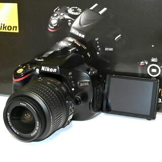 Nikon - 【Nikon】Wi-Fiでスマホへ!自撮り!かんたん操作!D5100レンズキット