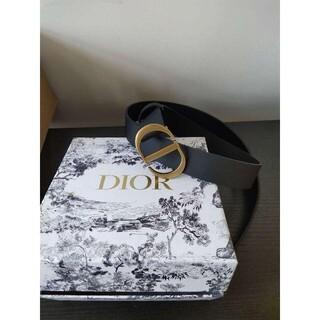 "Dior - Dior☆""30 Montaigne""CDロゴ♪カーフスキン*ベルト"