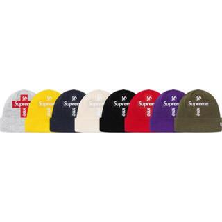 シュプリーム(Supreme)のNew Era® Cross Box Logo Beanie(ニット帽/ビーニー)