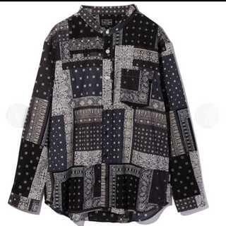 ショット(schott)の【即発送】Schott ショット バンドカラー バンダナシャツ シャツ S(Tシャツ/カットソー(七分/長袖))