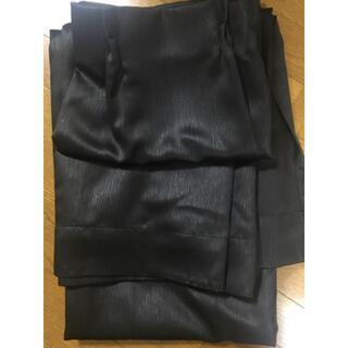 ニトリ(ニトリ)の遮光一級カーテン ニトリ ジャズ 黒 200cm x 100cm x 2(カーテン)