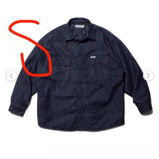 COOTIE - COOTIE  Denim Quilting Shirt Jacket 20aw