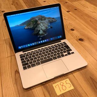 マック(Mac (Apple))のメモリ16 MacBook pro retina 13インチ early2015(ノートPC)