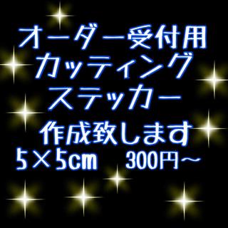 オーダー受付用 カッティングステッカー☆切文字ステッカー カーステッカー