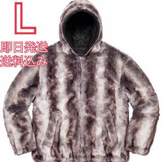 シュプリーム(Supreme)の再出品 Supreme e faux fur reversible hooded(ブルゾン)