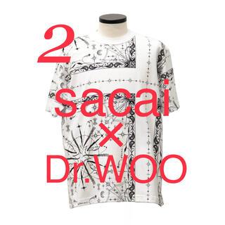 サカイ(sacai)の【sacai】sacai x Dr.Woo Bandana Print tee(Tシャツ/カットソー(半袖/袖なし))