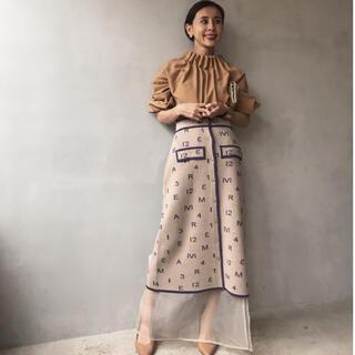 Ameri VINTAGE - 【新品・タグ付】定価1万9000円 パスコードニットスカート