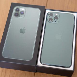 Apple - iphone 11 pro 256GB ミッドナイトグリーンSIMロック解除済み