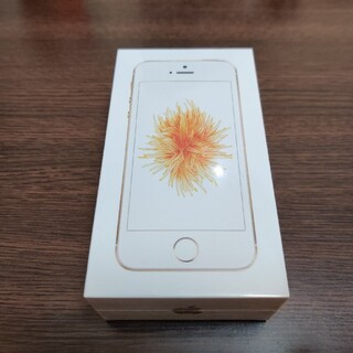 iPhone - iPhone SE Gold 32 GB UQ mobile