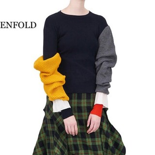 ENFOLD - ENFOLD エンフォルド セーター レディース ニット
