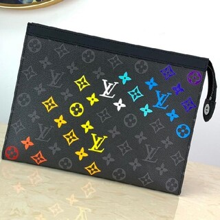 LOUIS VUITTON - 新品 ルイヴィトン  lv    クラッチバッグ