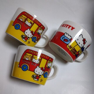 ハローキティ - ハローキティマグカップ(3個)