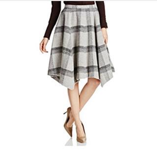 ミラオーウェン(Mila Owen)のミラオーウェン チェック柄スカート(ひざ丈スカート)