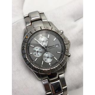 FOSSIL - T194 FOSSIL フォッシル クロノグラフ 腕時計 クォーツ メンズ